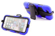 Tough duty silicone case for Apple iPhone 6 cover with belt clip