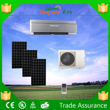 Air cooled Central air conditioner ,0.5ton 24v 12000btu cooling&heating hybrid solar powered air conditioner