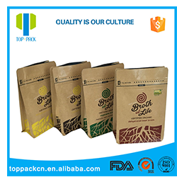 Exclusif Personnalisé Stand Up Refermable Snack Chien Treats Alimentaire Emballage Sacs