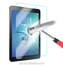 China factory price!!! Oil and water proof 9H extremly hardness screen protector for samsung galaxy tab s2