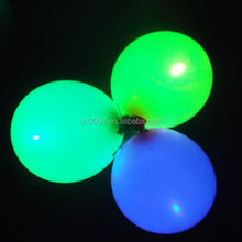 cheapest led balloon with battery inside,led flashing balloon light with LOGO