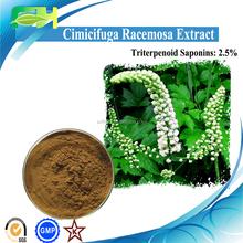 2015 New Cimicifuga Racemosa Extract, Black Cohosh Extract, 2.5% Triterpenoid Saponins