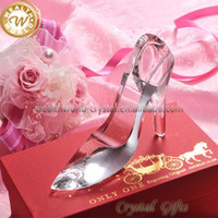 white crystal wedding shoes for gifts