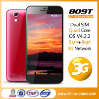 new product 5inch 1920 *1080px Android 4.3 OS MTK6592 Octa core RAM 2GB 2cameras 13MP mobile phone 809T