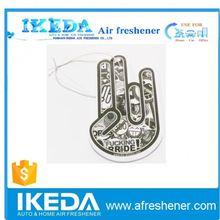 Fresh air freshener paper cardboard air freshener