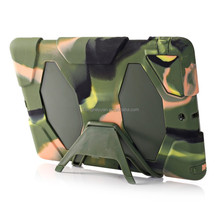 high quality hybrid pc tpu screen protector armor belt clip stand case for ipad 6