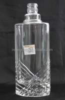 super Flint Vodka /brandy/whisky Glass Bottle