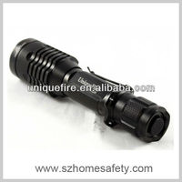 UniqueFire UF-2220 1000 Lumens Police CREE LED Flashlights with T6 and Tempered Glass Lens(1*18650/1*26650)