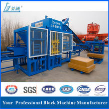 German technology QT5-15 brick making machine/hollow block making machine