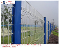 Export To south africa PVC-coated cheap galvanized iron wire fence ZX-SJZW04