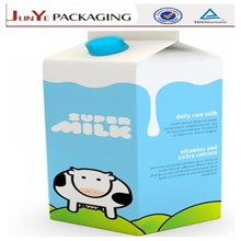 CE quality european standard decorative beauty low cost paper bag for milk