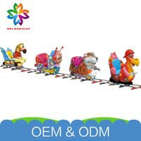 Best Selling Park Electric Equipment Unique Design Amusement Park Miniature Train For Kids Hot Sale