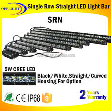 Trade assurance supplier promotion one row led flood light bar