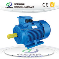 4 pole Y2 series electric motor 0.75kw three phase ac