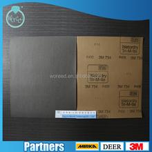 230*280mm Waterproof Sandpaper Pad / Sandpaper Sheet / A4 Abrasive MANUFACTURER