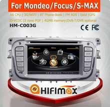 Hifimax navigator for Ford Mondeo car dvd gps navigation WITH A8 CHIPSET DUAL CORE 1080P V-20 DISC WIFI 3G INTERNET DVR