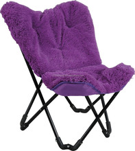 Cheap butterfly chair, Metal folding butterfly chair