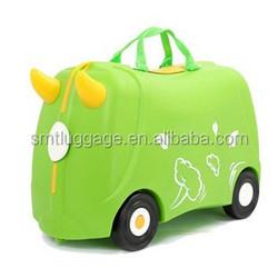 Multifunction plastic kids trolley bag