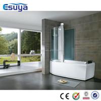 Composite shower new style shower enclosure folding bath shower screen for bath tub