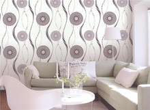 commercial morden coated design waterproof cheap 3d modern new heavy plain vinyl wallpaper