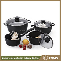 New design 9PCS italian cookware