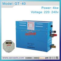 2014 best sale 4kw 220v 50-60hz steam generator for wet sauna and spa