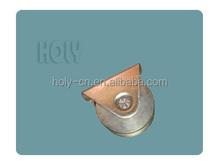 Folding door wheel with color zinc plated steel housing-------- DSW-G garage roller door