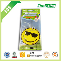 Specially Hanging custom paper decorative air freshener