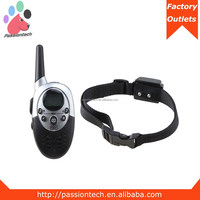 1000 Yards Remote Control Vibration and Electric Shock Dog Training Collar with Nylon Dog Collar Wholesale