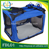 Blue Soft-sided Dog/Cat Pet Crate Kennel Air Conditioned Pet Carrier