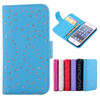 Fashional Diamond Leather case for iphone 5