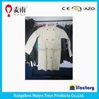 Maiyu breathable cheap clear plastic mackintosh rainwear