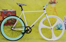 700C track bike/fixed gear/2015 700C fixie bike/ 3 wheel bicycle axle