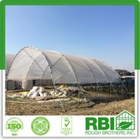 High Tunnel greenhouse tunnel galvanized tube single or multi span film greenhouse low cost for farming