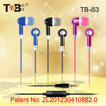 Factory direct sale Wired Communication and Noise Cancelling Microphone Function Earphones