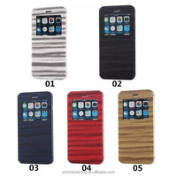 New arrival flip leather case for iphone 6