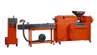 Waste Plastic Recycling Machine PP PE Granulator Equipment With Water Ring Pelletizing System