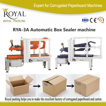 connect to full automatic packaging line carton sealer