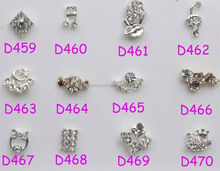 BIN new fashion mixed deisgn bow tie 3d nail decoration/nail decoration