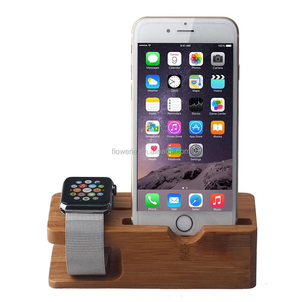 fl3619 meilleures ventes en bois bureau pour apple montre support de charge porte chargeur de. Black Bedroom Furniture Sets. Home Design Ideas