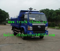 new Foton Forland dump truck with low price