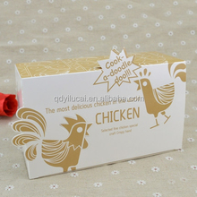 unique design custom printed paper box for fried chicken
