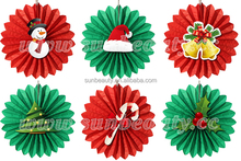 Manufacturer popular item christmas ornament with paper craft