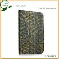funky phone case,stylish flip folded handy shell,folio pu leather case for samsung galaxy note 8 n5100