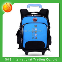 OEM good quality exclusive elementary students kids trolley school bag