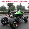 Good Quality Manual 250CC Quad Bike Racing ATV with Aluminum Rim