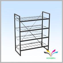 Supermarket oem design metal floor stand costco storage racks