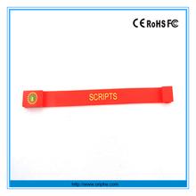 China factory gift wholesale funny bracelet usb wristband usb flash memory stick