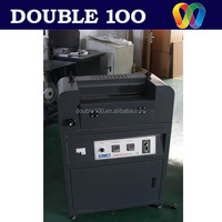 double 100 new design single side gluing machine for photo paper