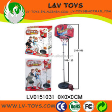 LV0151031 kids basketball backboard stand set